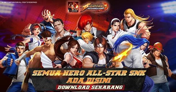 The King of Fighters AllStar - Pertarungan Sengit