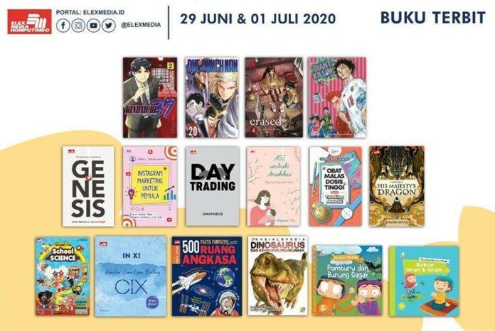 Jadwal Terbit Komik Tanggal 1 Juli 2020