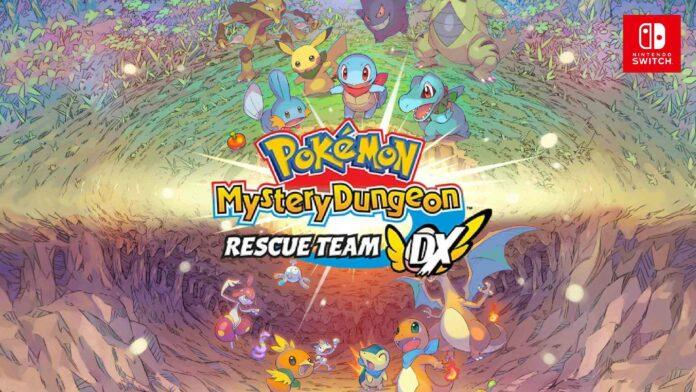 Pokemon Mystery Dungeon Rescue Team DX
