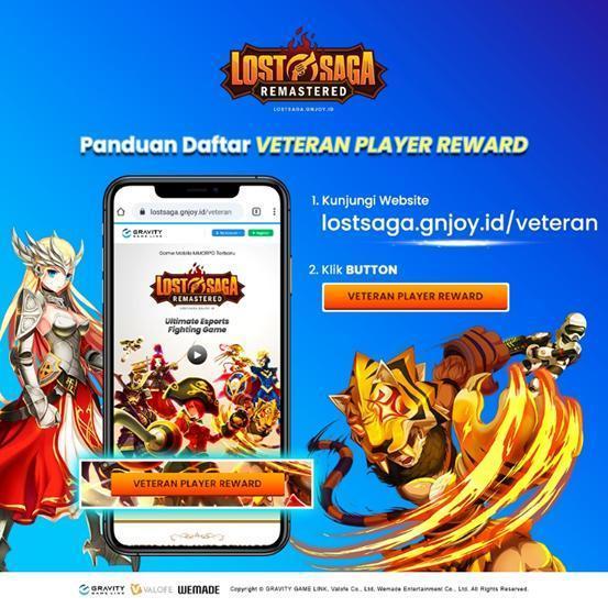Event Veteran Player Reward Lost Saga Remastered Telah Dibuka Saatnya Jagoan Lost Saga Bernostalgia Kaori Nusantara