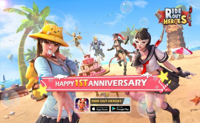Ride Out Heroes 1st Anniversary