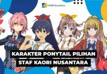 karakter ponytail anime