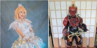 wcs online cosplay de umigomi zero 1 menit cosplayer peduli sampah