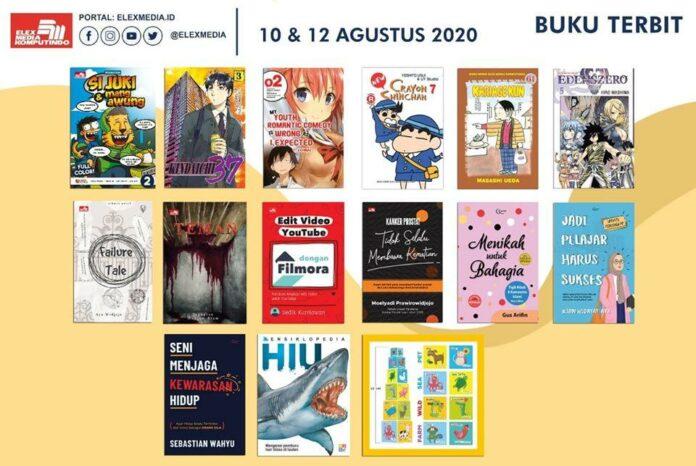 Jadwal Terbit Komik Tanggal 12 Agustus 2020