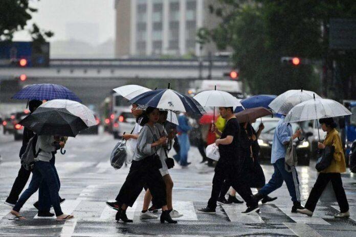Prakiraan cuaca di Jepang