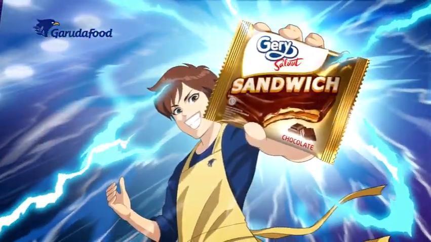 Gery Saluut Sandwich