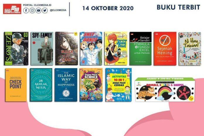 Jadwal Terbit Komik Tanggal 14 Oktober 2020