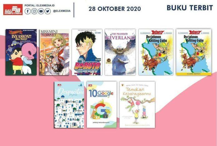 Jadwal Terbit Komik Tanggal 28 Oktober 2020
