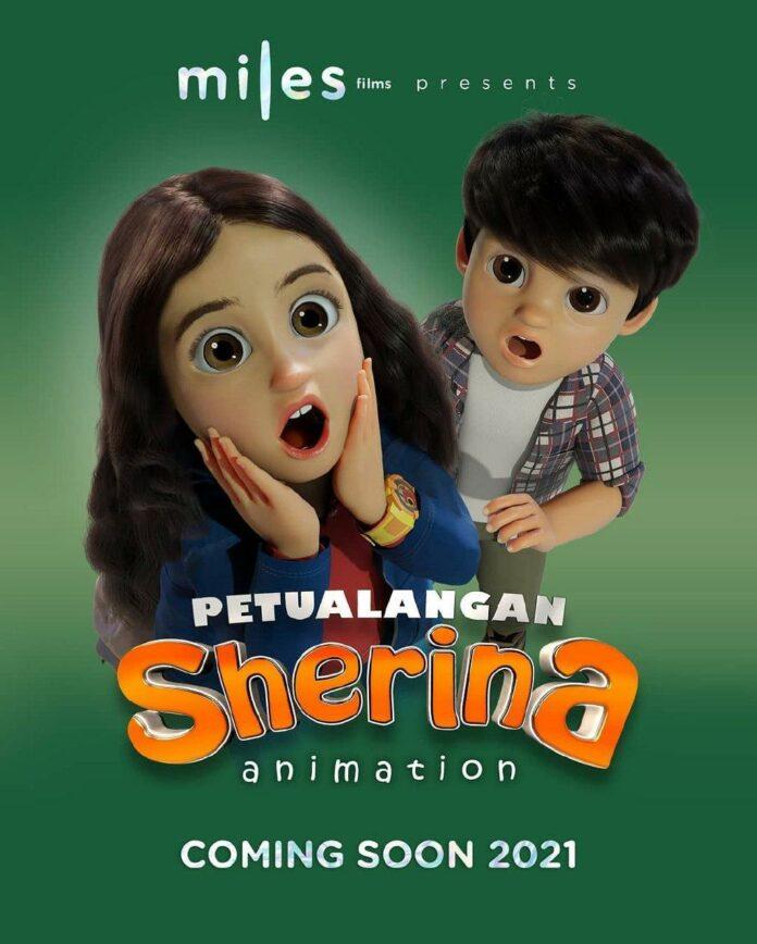 petualangan sherina animation