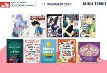Jadwal Terbit Komik Tanggal 11 November 2020
