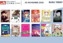 Jadwal Terbit Komik Tanggal 25 November 2020