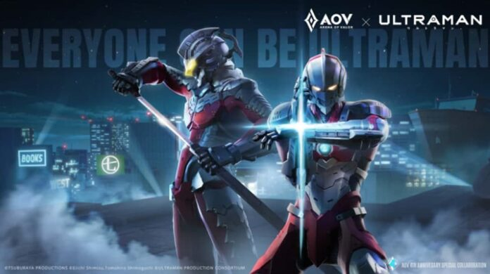 kolaborasi AOV x Ultraman
