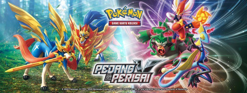 Pokemon TCG Pedang Perisai VMAX