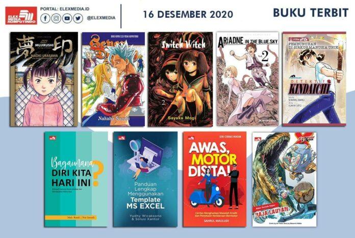 Jadwal Terbit Komik Tanggal 16 Desember 2020
