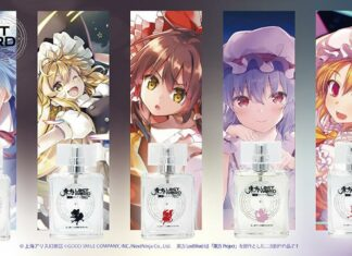 parfum touhou project