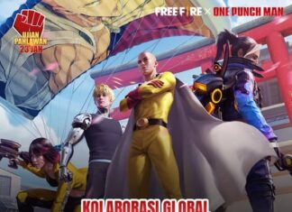 one punch man x free fire