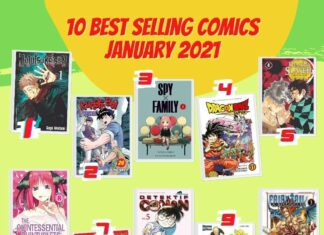 best seller januari 2021