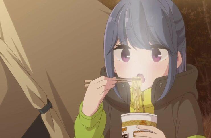 anime yurucamp season 2