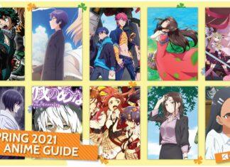 panduan anime kaori spring 2021