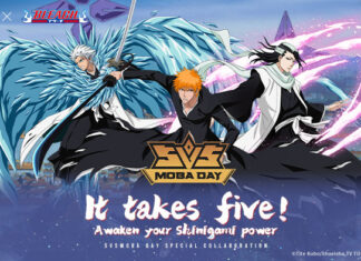 bleach x aov