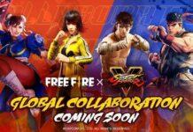 Street Fighter V x Free Fire