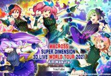 Macross Super Dimension 3D Live World Tour Air