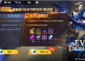 Elite Pass Free Fire