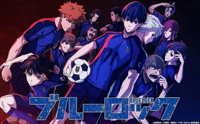 blue lock diadaptasi menjadi anime