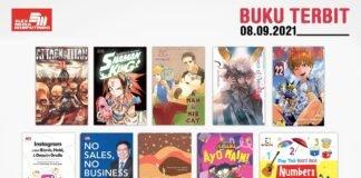 Jadwal Terbit Komik Tanggal 8 September 2021
